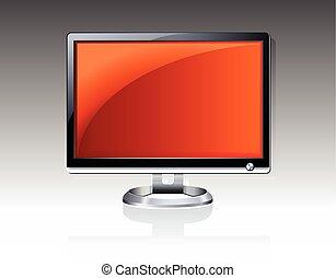 plat, lcd, computer, plasma, monitor