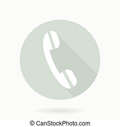 plat, récepteur, amende, téléphone, icône