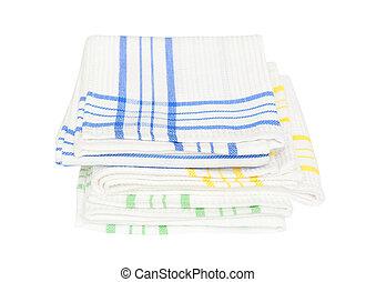 plat, serviettes