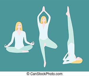 plat, set, yoga