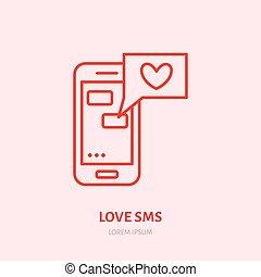 SMS en ligne datant