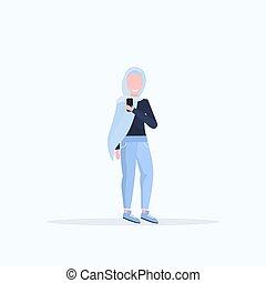 plat, smartphone, femme, selfie, femme, photo, prendre,...