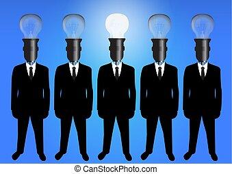 plat, style, concept, candidat, verre, -, recherche, embauche, métier, magnifier, mieux