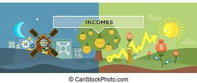 plat, style, concept, conception, incomes