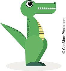 Crocodile dessin anim illustration alligator caract re illustration ou crocodile dessin - Dessin anime crocodile ...