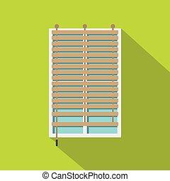 bois fen tre contour jalousie ic ne style contour vecteurs eps rechercher des clip. Black Bedroom Furniture Sets. Home Design Ideas