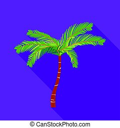 plat, style, mexicain, illustration., mexique, pays, symbole, isolé, arrière-plan., vecteur, ventilateur, paume, blanc, icône, stockage