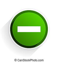 plat, toile, moderne, moins, élément, fond, vert, conception, blanc, ombre, icône