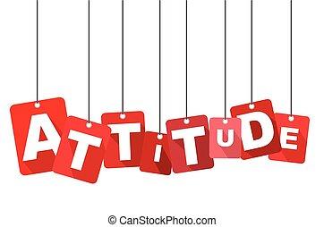 plat, web, attitude., goed, informatietechnologie, vector, ontwerp, achtergrond, adapted, rood, design.