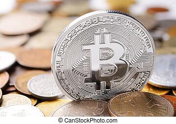 plata, bitcoin, intercambio