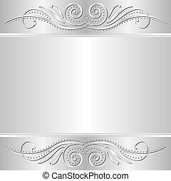 plata, plano de fondo