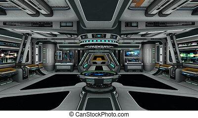plataforma espacial