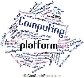 plataforma, informática