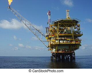 plataforma offshore óleo