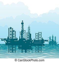 plataformas, oil-producing