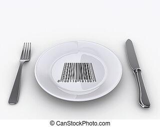 Plate barcode