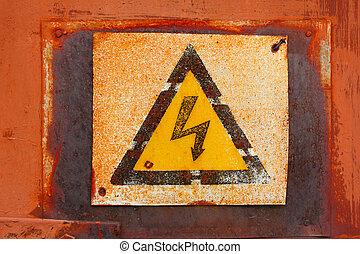 plate dangerous voltage