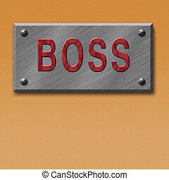 plate of boss