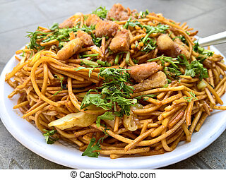 Plate of Chowmein