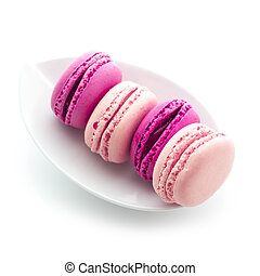 Plate of French Macaroons
