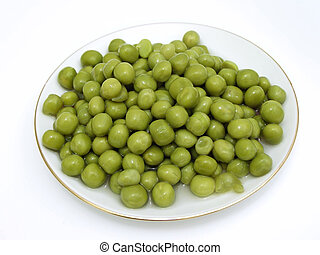 Plate of pea