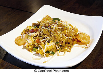 Plate of Penang Fried Noodles