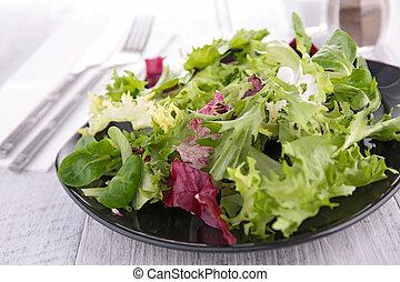 plate of salad