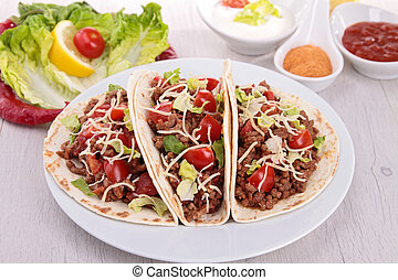 plate of taco