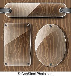platen, hout, doorzichtigheid