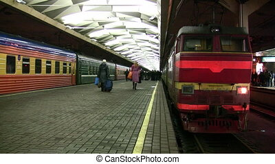 platform train station - Platform train station