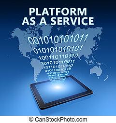 platforma, służba