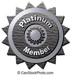 platine, membre