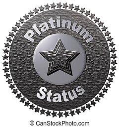platine, statut