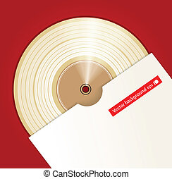 Platinum CD prize with cover