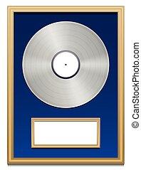 Platinum Certified Platin Record - Platinum certification...