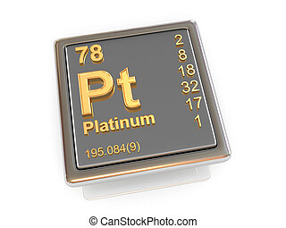 Platinum. Chemical element.