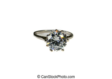 Platinum White Gold Diamond Wedding Engagement Ring Platinum W