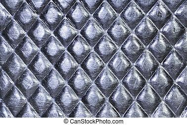plato metal, acero, fondo., hola, res, textura