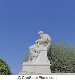 Plato the philosopher statue