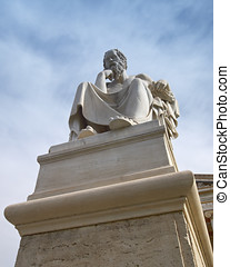 Plato the philosopher statue