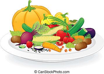 platte, vegan