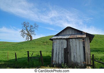 platteland, landelijk