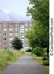 Plattenbau In Eastern Germany