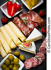 platter, catering, antipasti