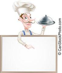 Platter Chef Sign