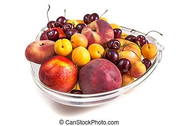 Platter of a assorted fresh fruit