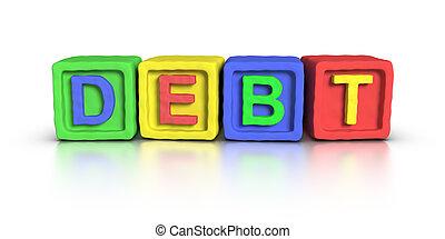 Play Blocks : DEBT