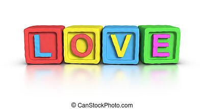 Play Blocks : LOVE