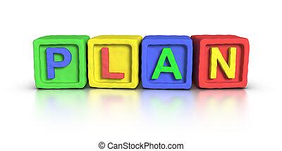 Play Blocks : PLAN