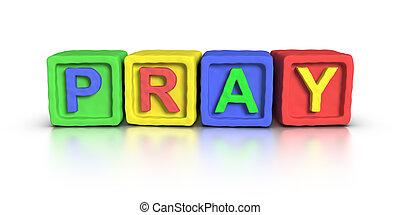 Play Blocks : PRAY
